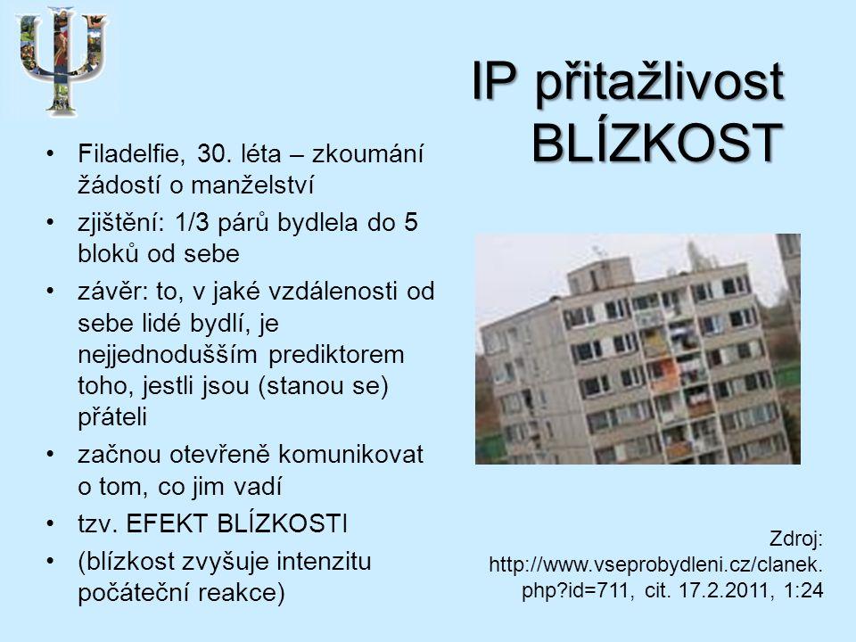 IP přitažlivost BLÍZKOST Filadelfie, 30.