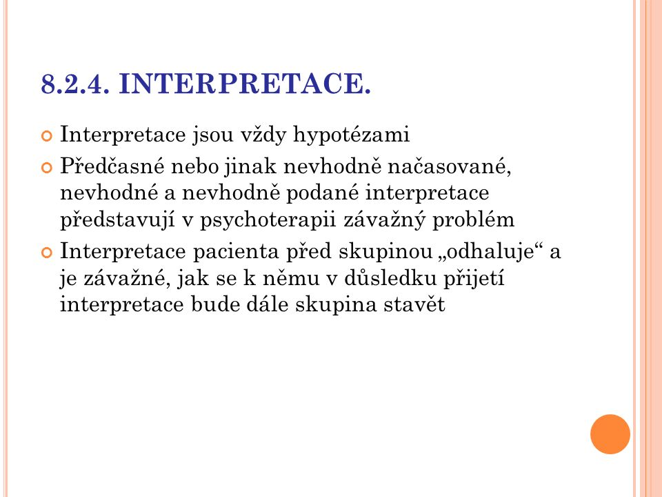 8.2.4. INTERPRETACE.