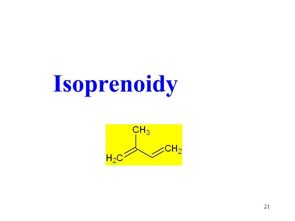 21 Isoprenoidy