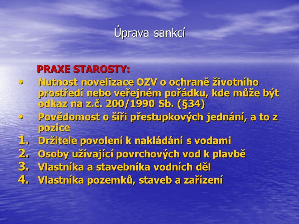 Úprava sankcí 5.
