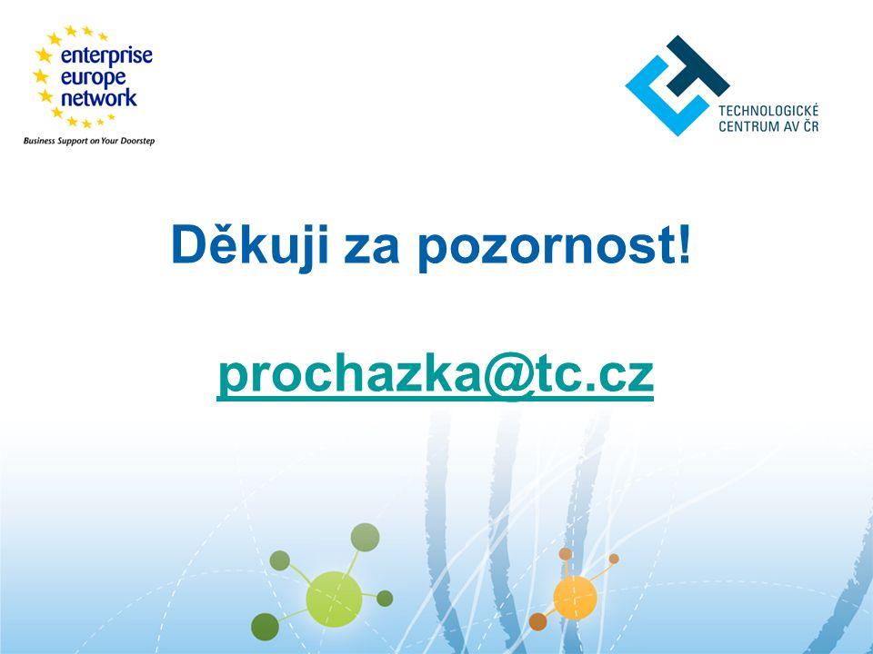Děkuji za pozornost! prochazka@tc.cz