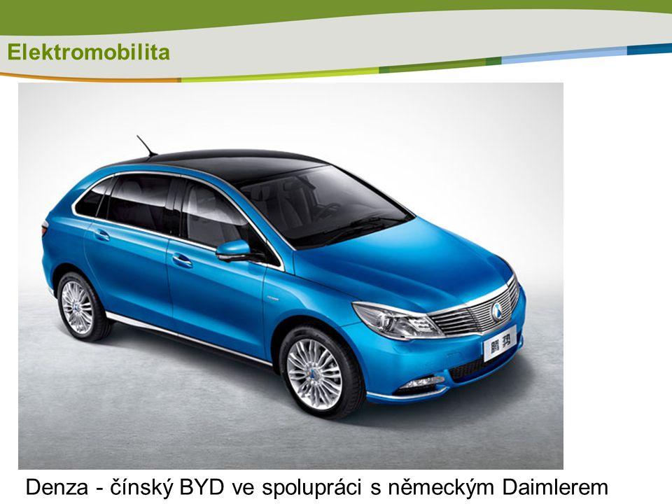 Elektromobilita Denza - čínský BYD ve spolupráci s německým Daimlerem