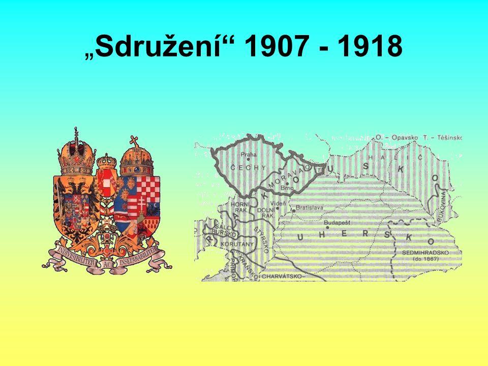 """""""Sdružení 1907 - 1918"""