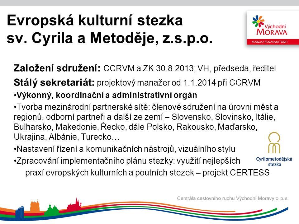 Evropská kulturní stezka sv. Cyrila a Metoděje, z.s.p.o.