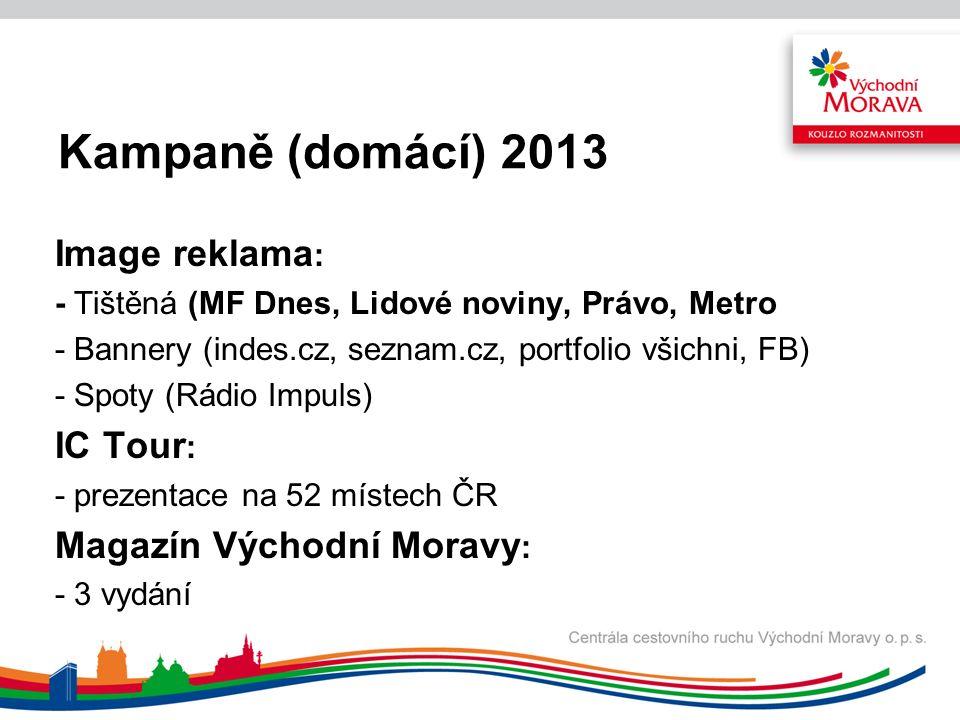 Kampaně (zahraniční) 2013 tvorba 5 produktových nabídek pro Polsko, Slovensko, Německo, Rakousko, Itálii.