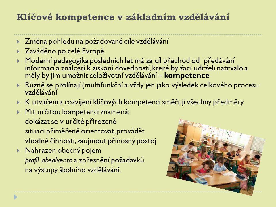 Rámcový vzdělávací program ZŠ