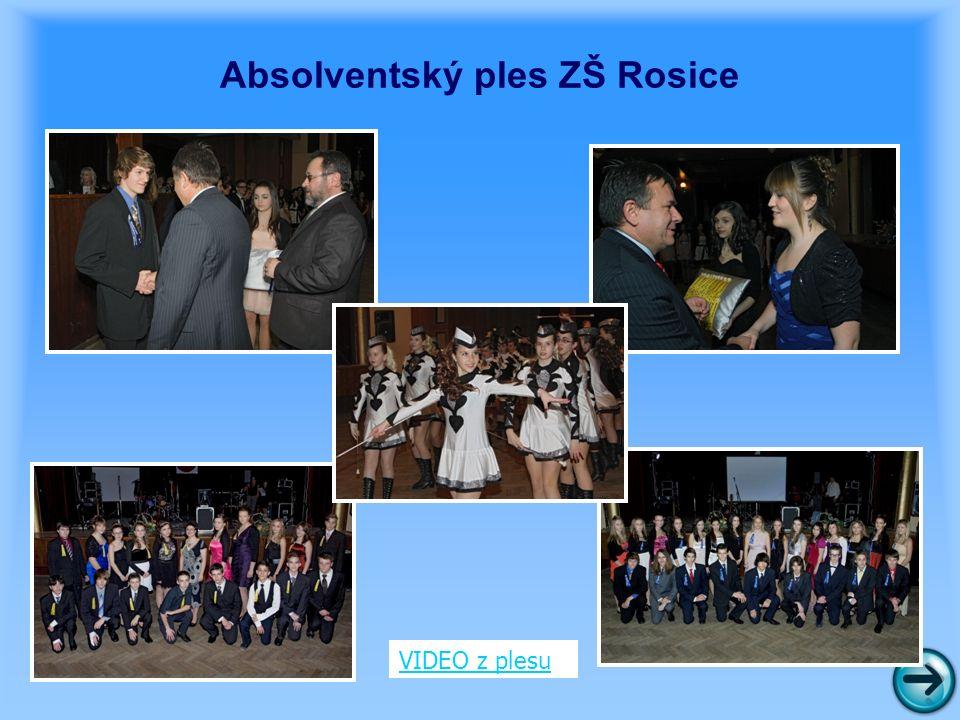 Absolventský ples ZŠ Rosice VIDEO z plesu
