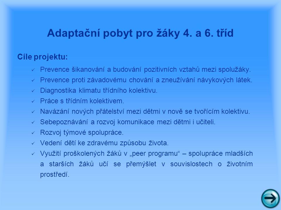 Akce ke Dni dětí a závěru šk. roku