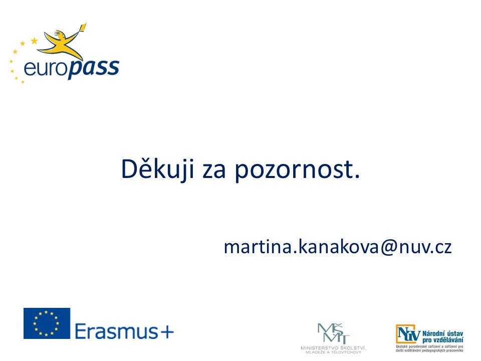 Děkuji za pozornost. martina.kanakova@nuv.cz
