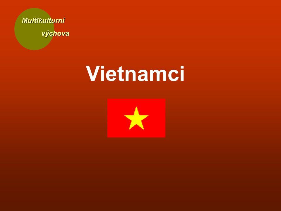 Multikulturní výchova výchova Vietnamci