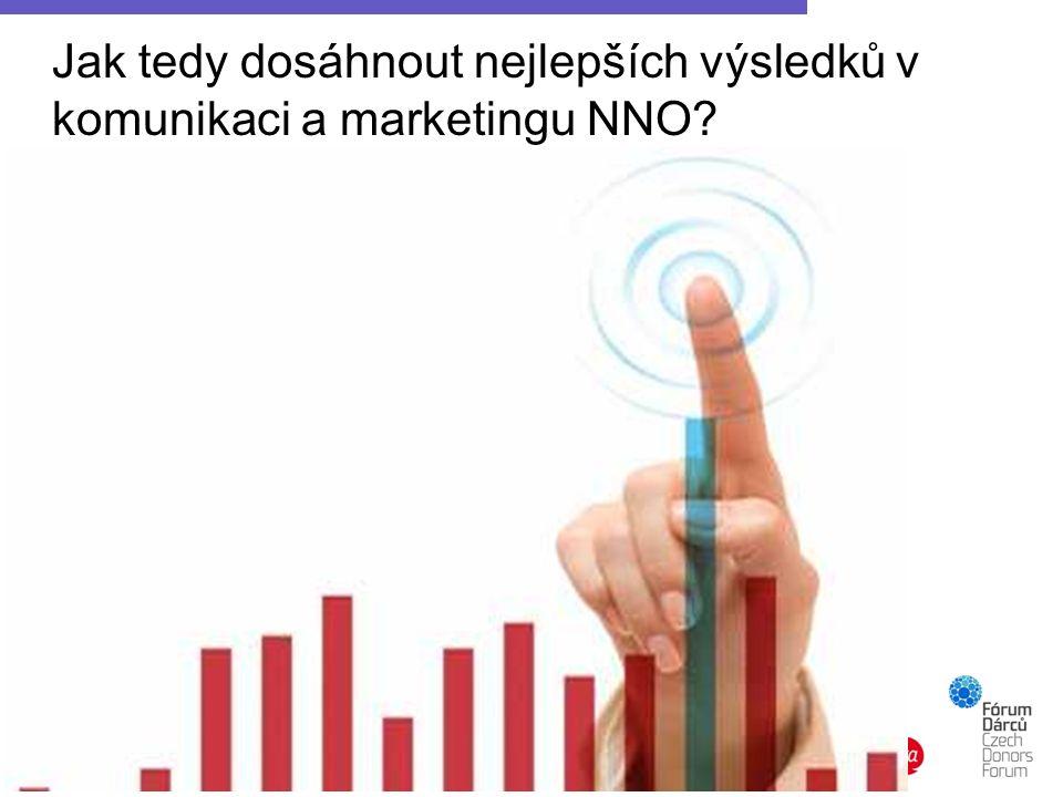 Jak tedy dosáhnout nejlepších výsledků v komunikaci a marketingu NNO