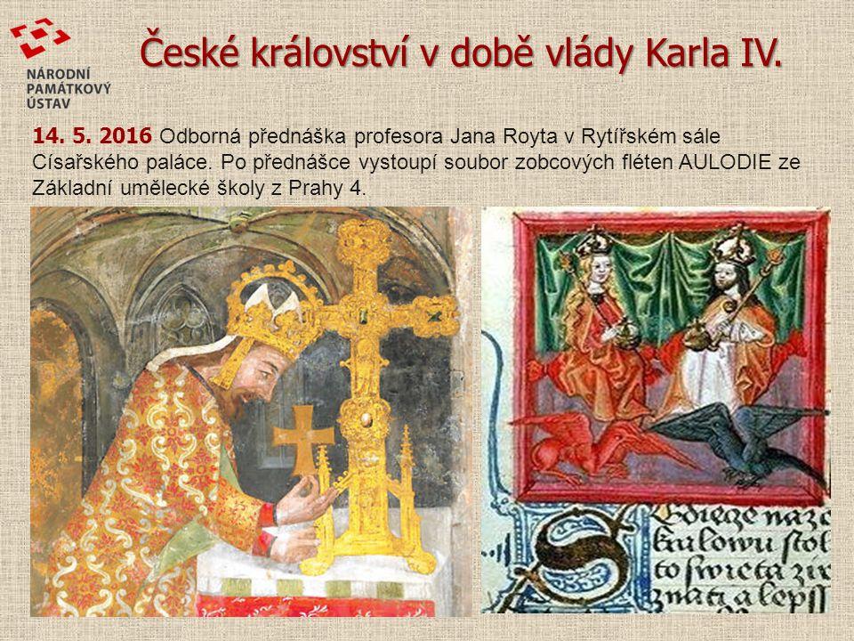 České království v době vlády Karla IV. 14. 5.