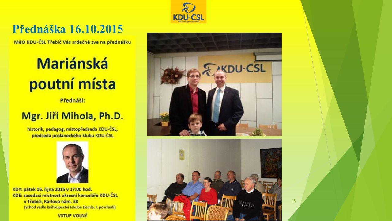 Přednáška 16.10.2015 18