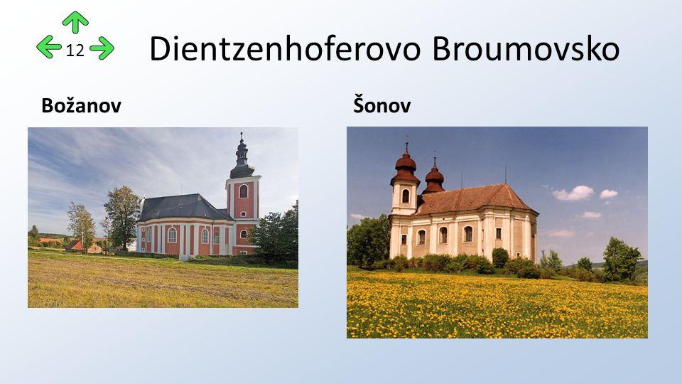 Dientzenhoferovo Broumovsko BožanovŠonov 12