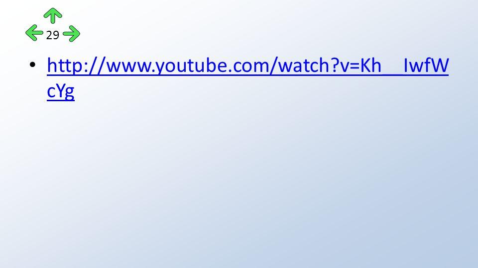 http://www.youtube.com/watch?v=Kh__IwfW cYg http://www.youtube.com/watch?v=Kh__IwfW cYg 29