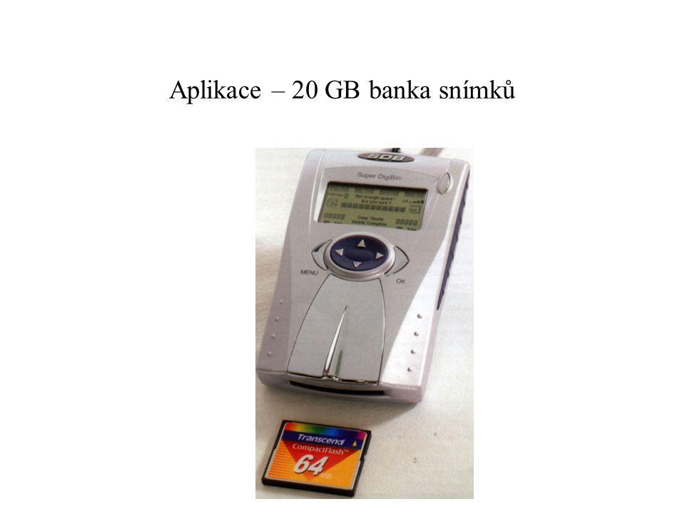 Aplikace – 20 GB banka snímků