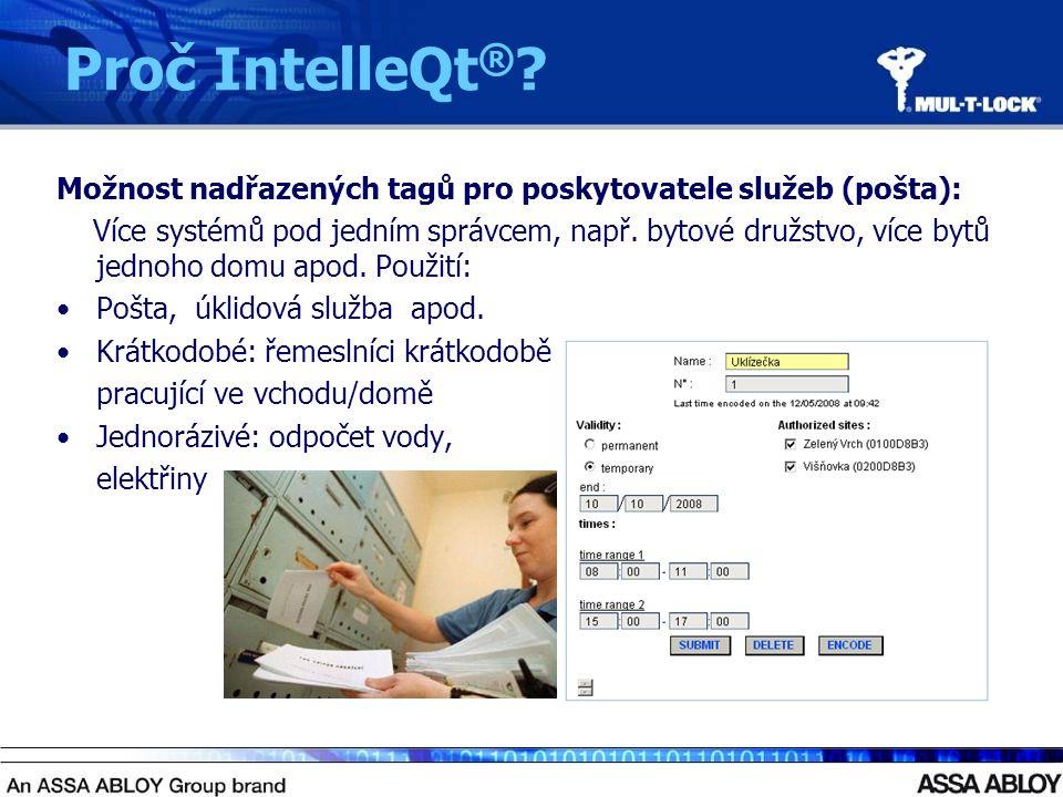 Možnost nadřazených tagů pro poskytovatele služeb (pošta): Více systémů pod jedním správcem, např.