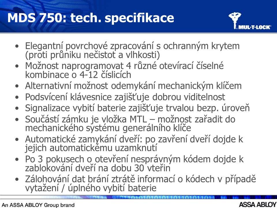 MDS 750: tech.