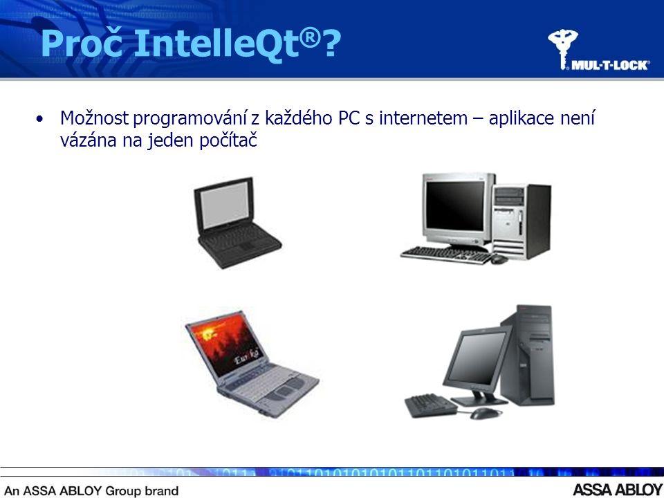 Proč IntelleQt ® .