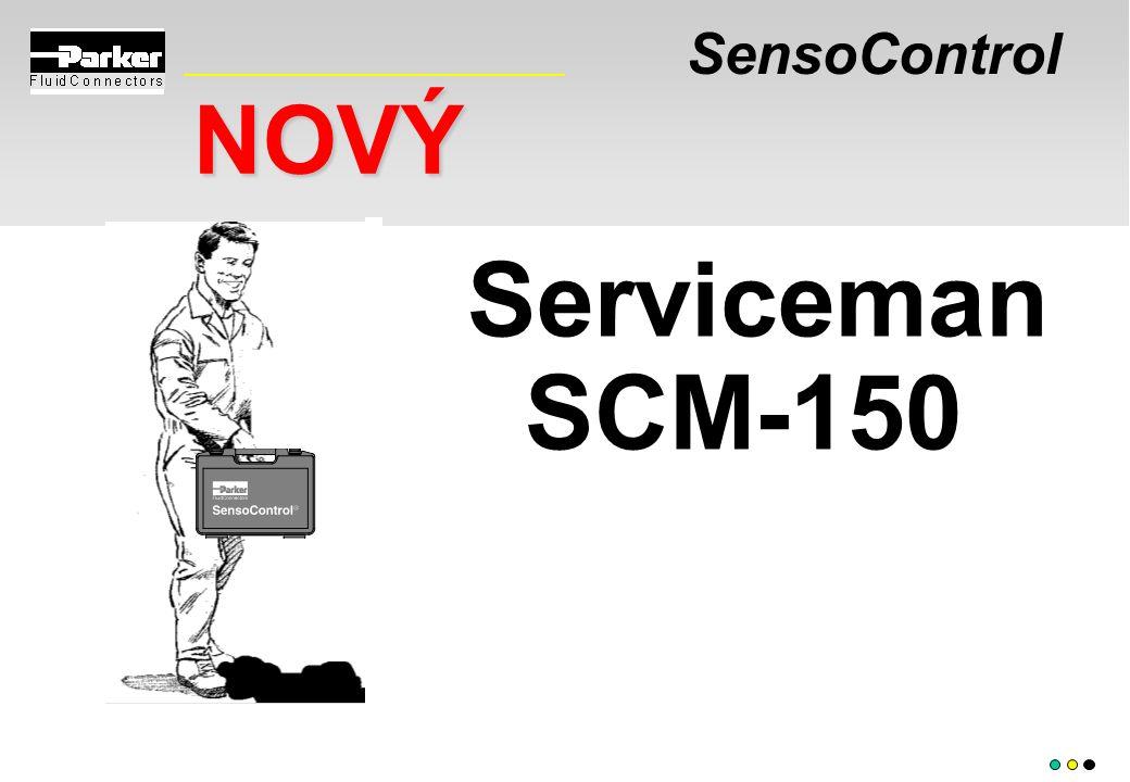 SensoControl NOVÝ Serviceman SCM-150