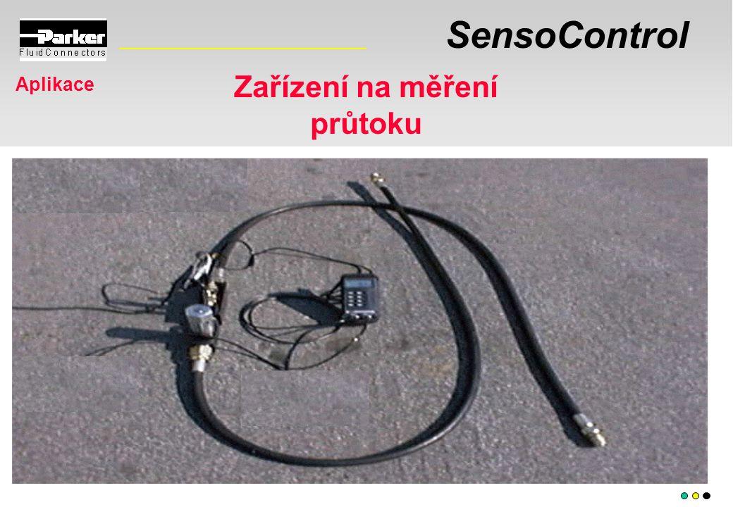 SensoControl Aplikace Zařízení na měření průtoku