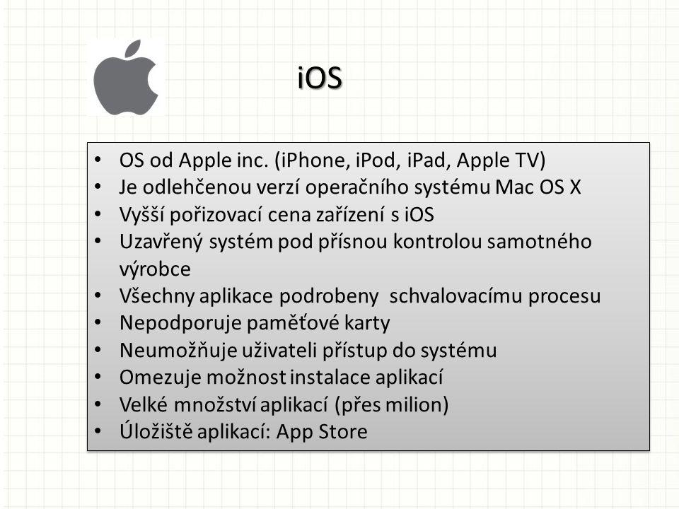 OS od Apple inc.