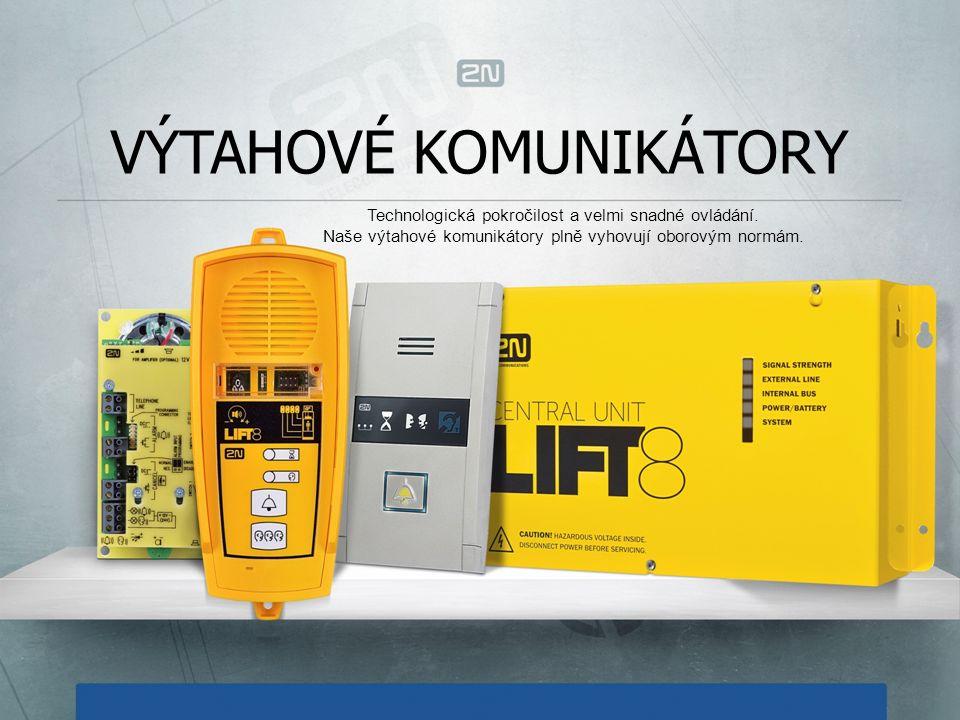 DVEŘNÍ KOMUNIKÁTORY Jsme první v Evropě, kdo vyrobil a začal prodávat komunikátory založené na SIP protokolu