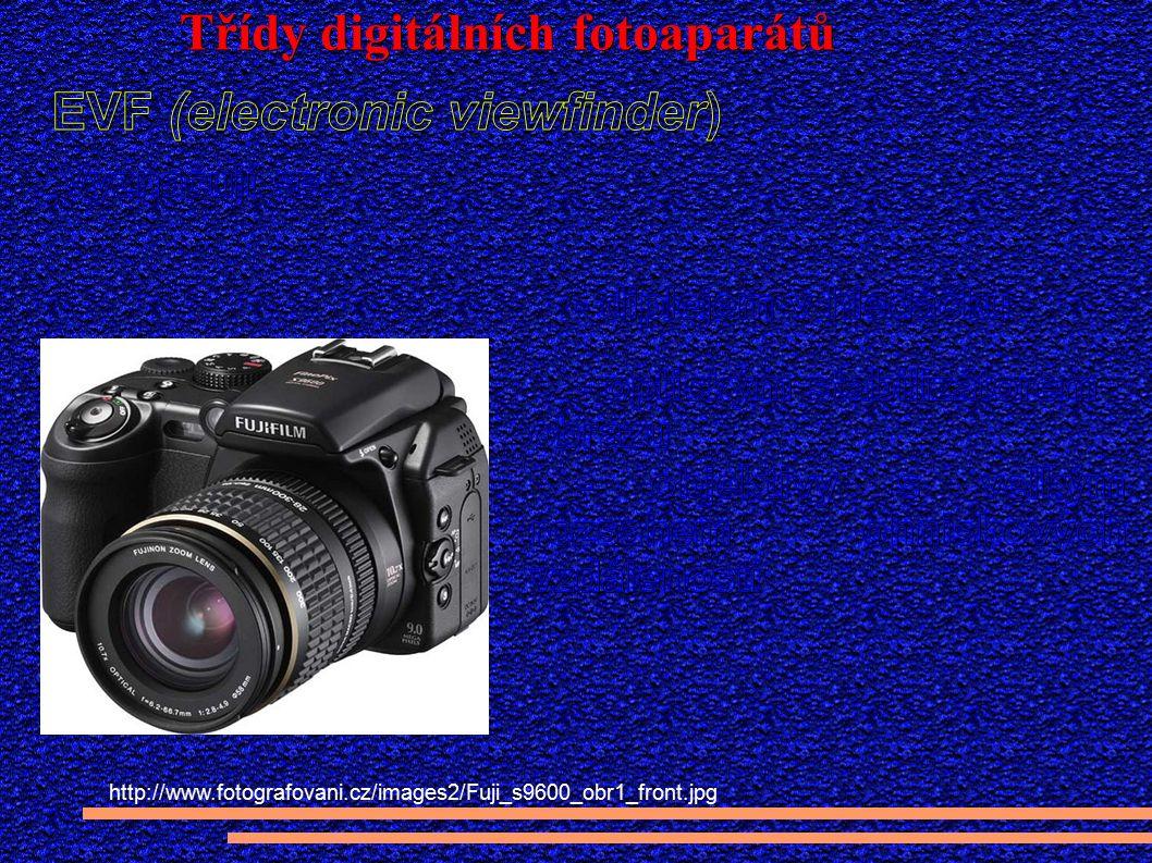 Třídy digitálních fotoaparátů http://www.fotografovani.cz/images2/Fuji_s9600_obr1_front.jpg