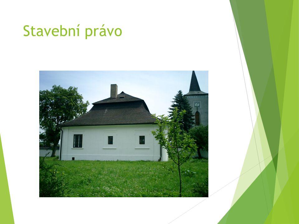 NOVÝ STAVEBNÍ ZÁKON Účinnost k 1.1.2007, velká novela k 1.1.2013