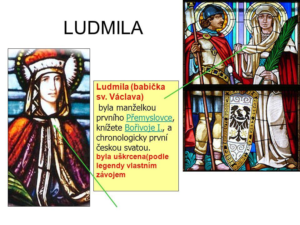 LUDMILA Ludmila (babička sv.