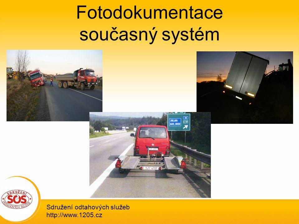 Fotodokumentace současný systém Sdružení odtahových služeb http://www.1205.cz