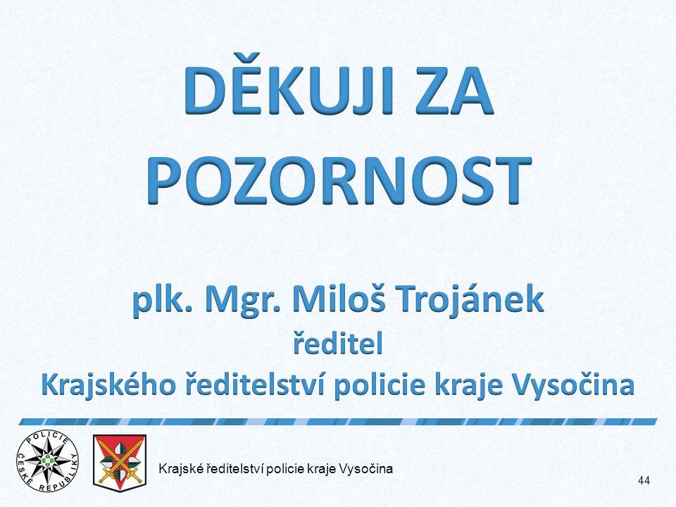 Krajské ředitelství policie kraje Vysočina 44