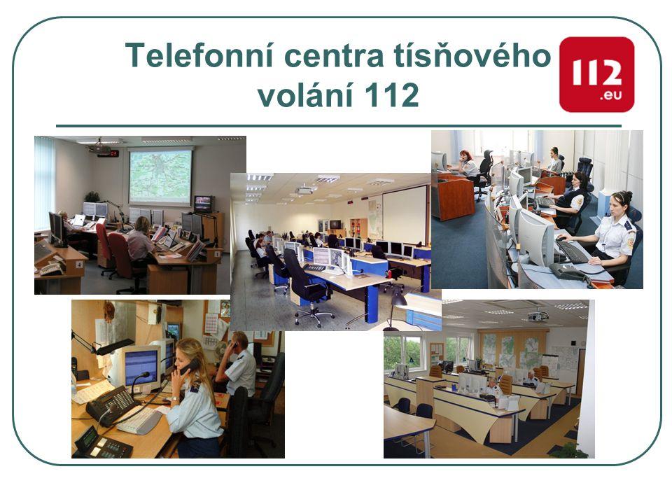 Telefonní centra tísňového volání 112