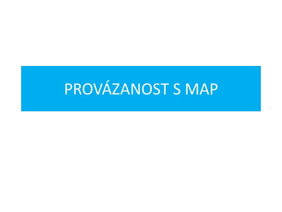 PROVÁZANOST S MAP