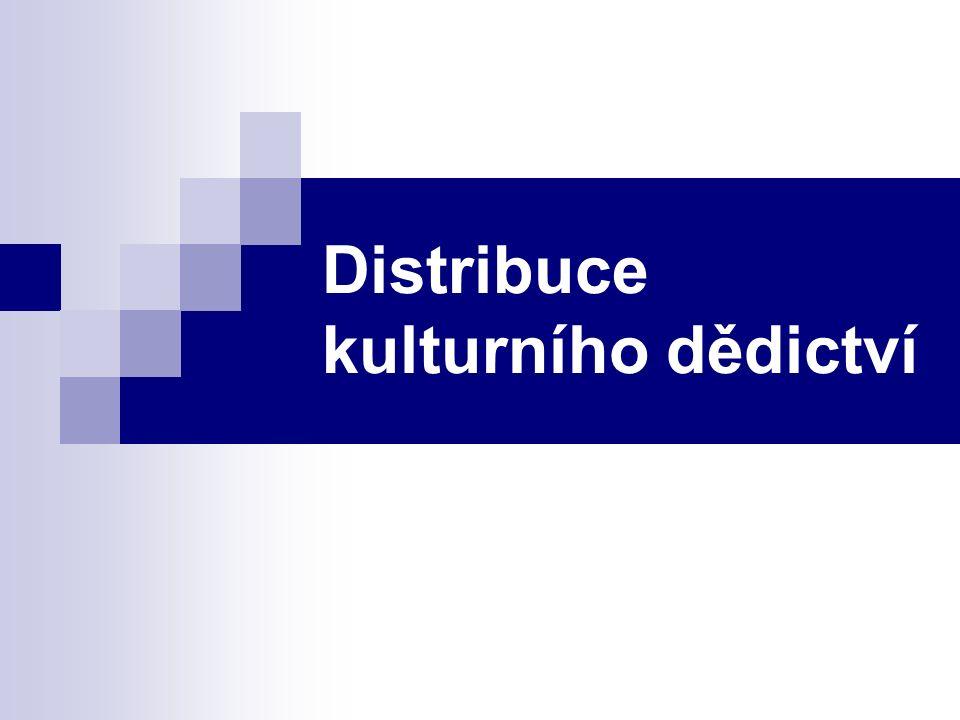 Distribuce kulturního dědictví
