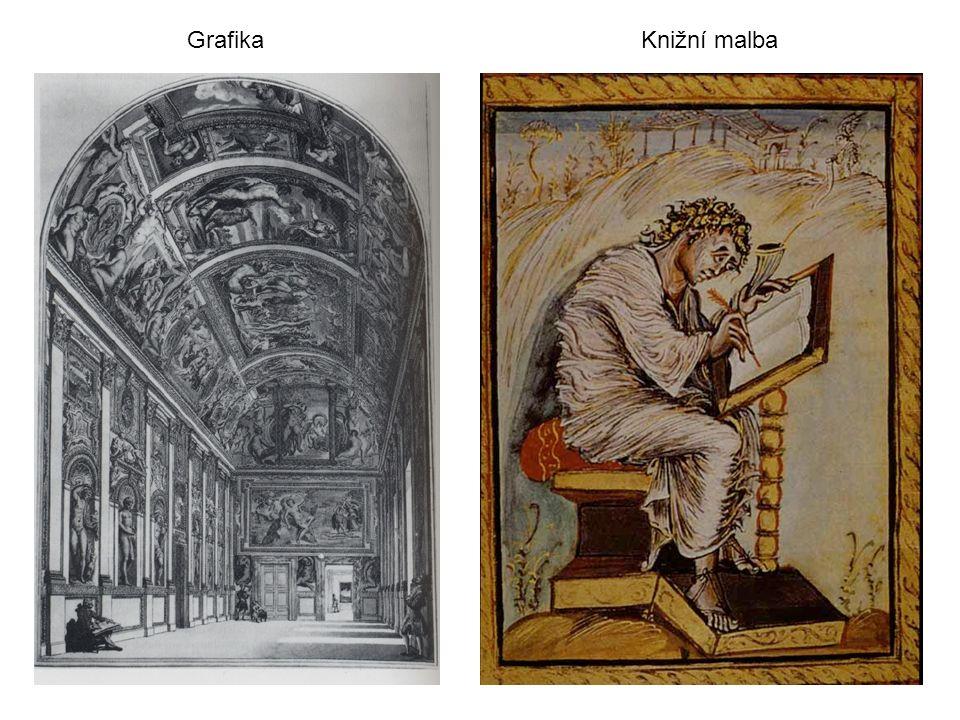 GrafikaKnižní malba