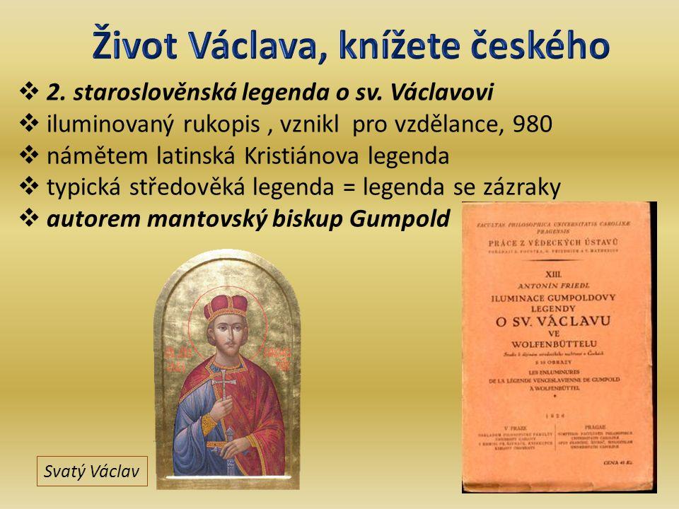 2. staroslověnská legenda o sv.