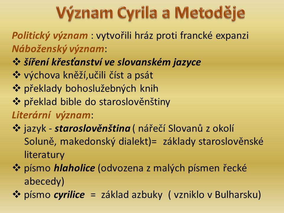  2.staroslověnská legenda o sv.
