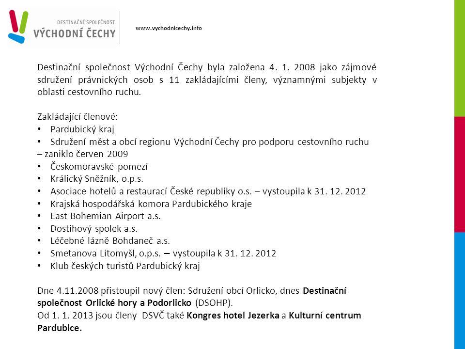 Destinační společnost Východní Čechy byla založena 4.