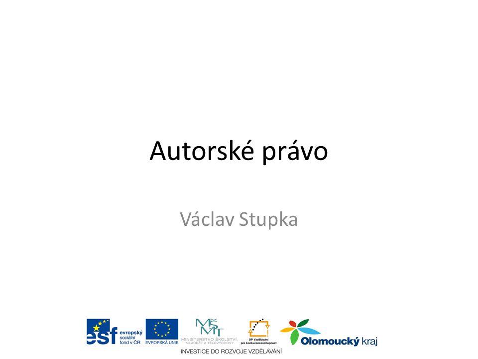 Autorské právo Václav Stupka aabc