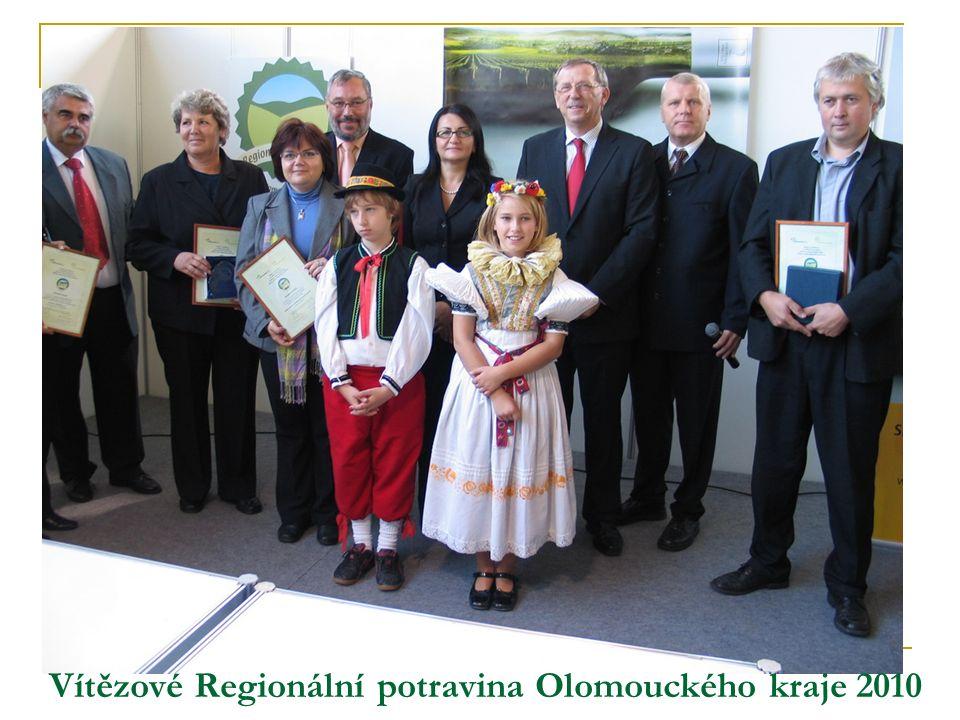 Vítězové Regionální potravina Olomouckého kraje 2010