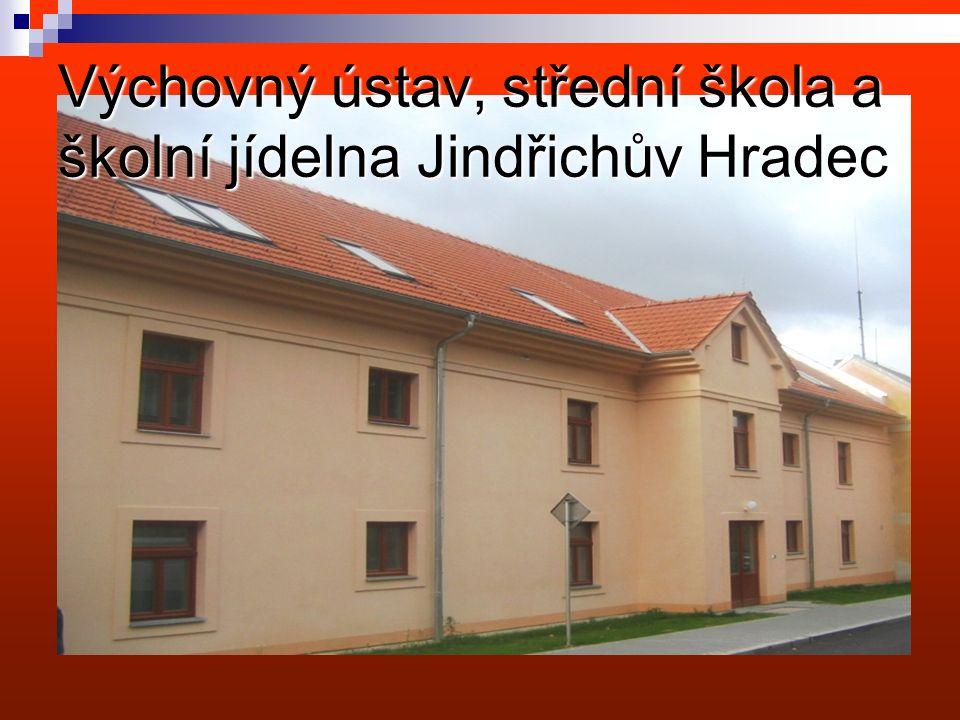 Výchovný ústav, střední škola a školní jídelna Jindřichův Hradec http://vujh.skolniweb.cz