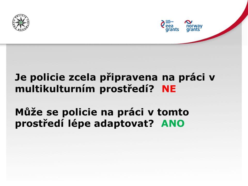 Policie nedůvěřuje minoritám Minority nedůvěřují policii PROČ.