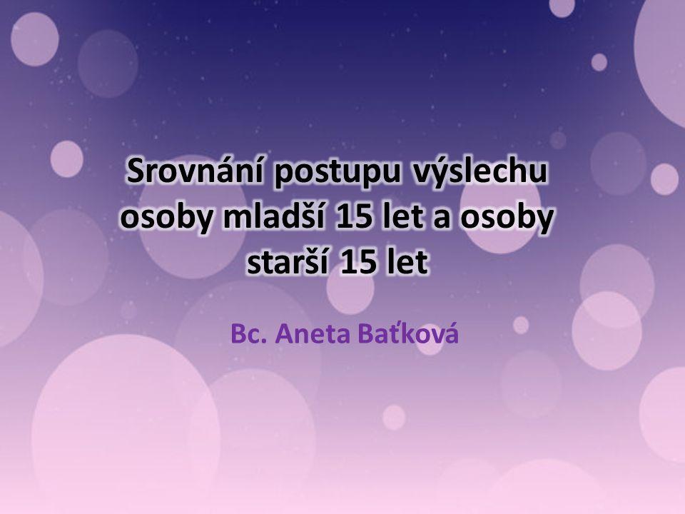 Bc. Aneta Baťková