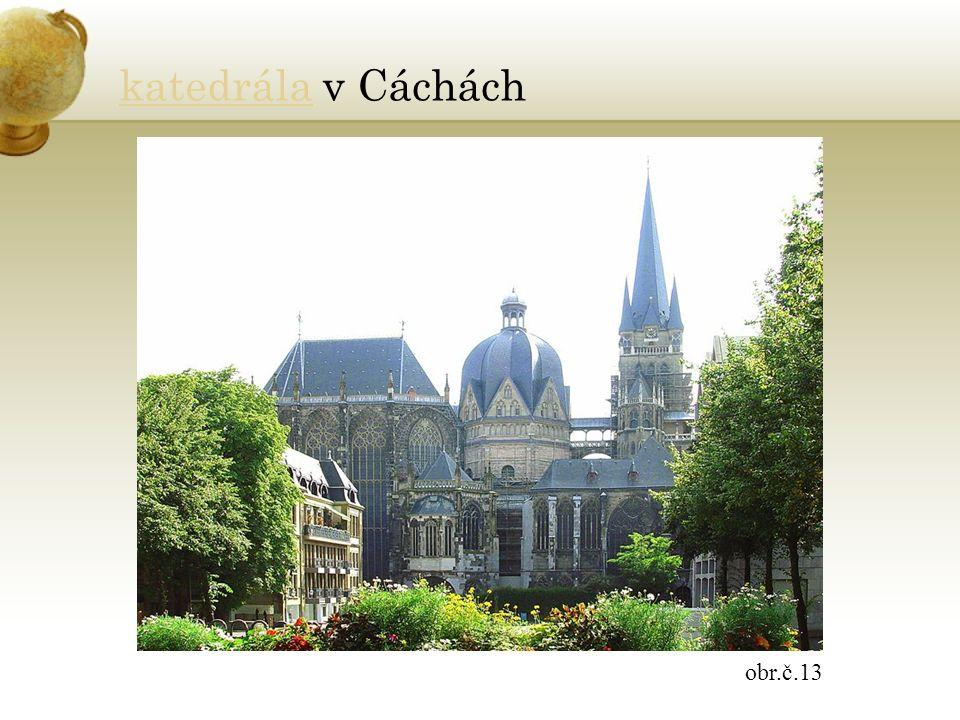 katedrálakatedrála v Cáchách obr.č.13