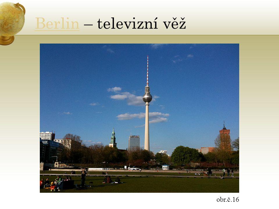 BerlinBerlin – televizní věž obr.č.16