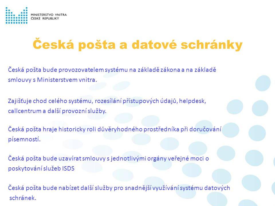Informační kampaň Úspěch e-Governmentu v ČR je do značné míry závislý na tom, jak se rozšíří používání datových schránek.
