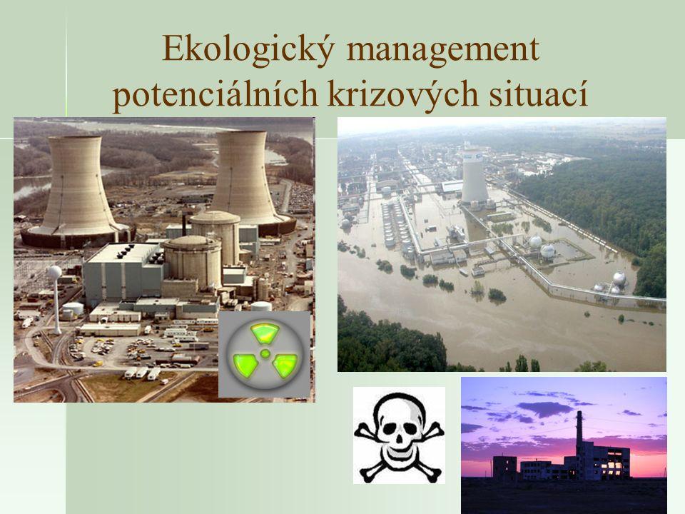 Ekologický management potenciálních krizových situací