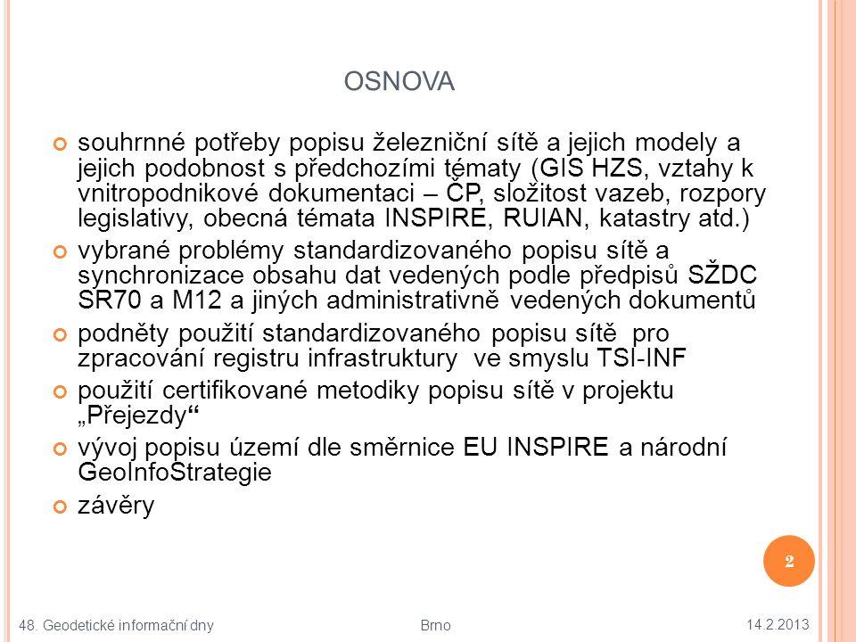 M ODELOVÁNÍ REALITY JAKO ZÁKLADNÍ PRINCIP INFORMATIKY 14.2.2013 3 48.