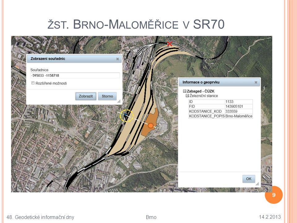 MAPA UZLU B RNO PODLE M12 A SR70 V MAPZEL 14.2.2013 10 48.